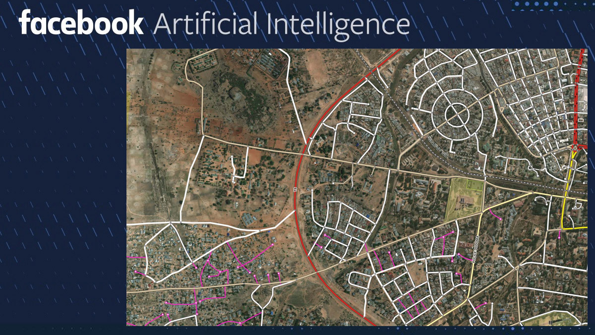 Facebook AI Tool For Mapping Roads