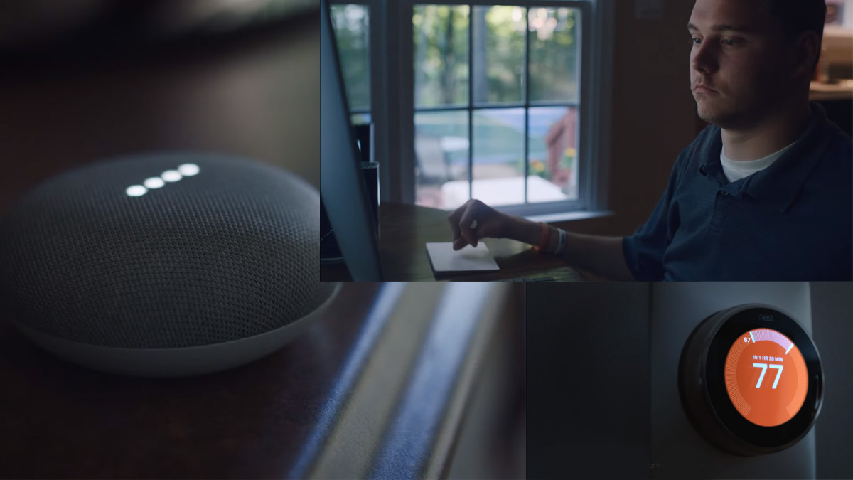 Google Home Mini Assistant Speaker