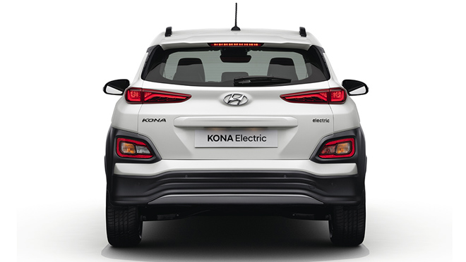 Hyundai Kona Electric Back Design