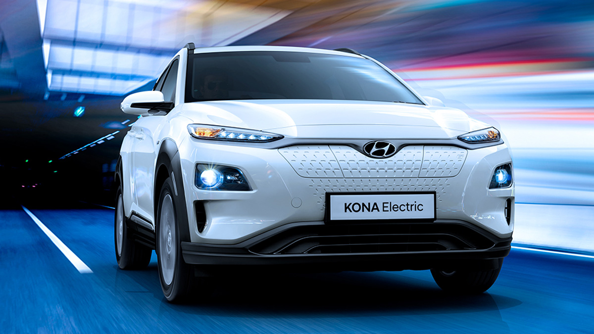Hyundai Kona Electric SUV Car