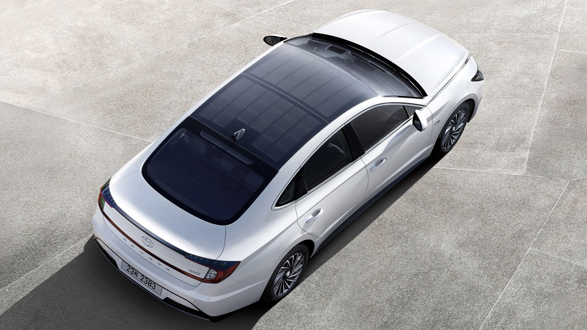 Hyundai Sonata 2020 Car Roof