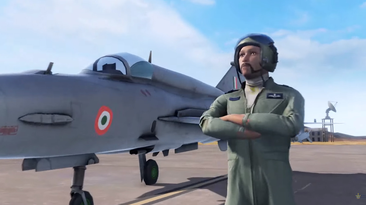 IAF Mobile Game