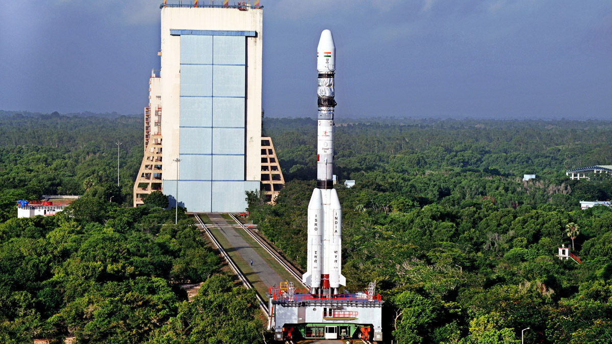 ISRO Rocket Launch pad