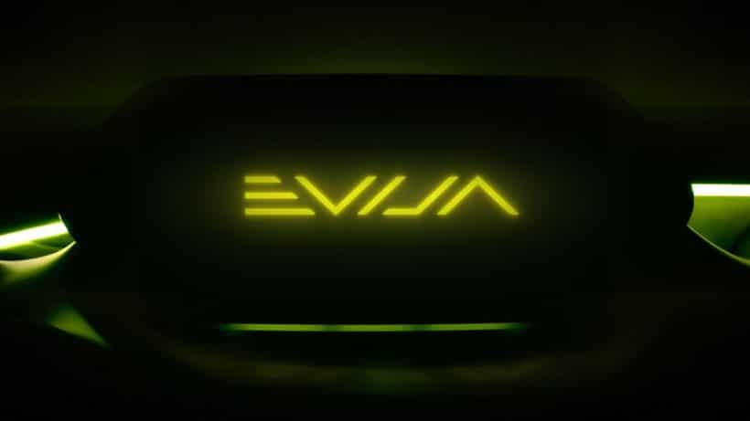 Lotus EVIJA is the name of the new Lotus hypercar