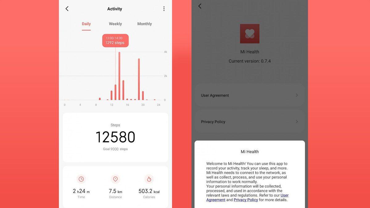 Mi Health App By Xiaomi