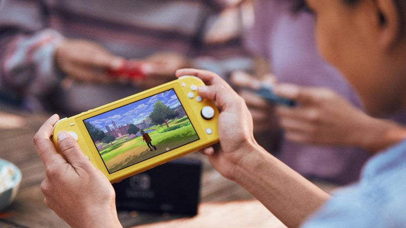 Now play games while traveling with Nintendo Switch Lite