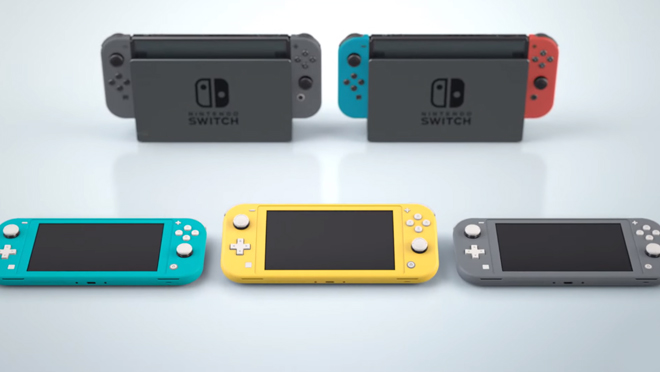 Nintendo Switch Lite Design
