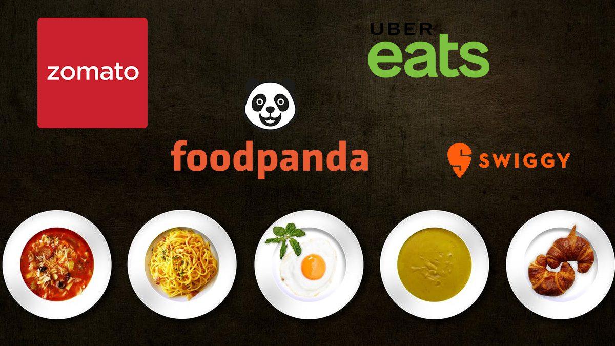 Zomato Foodpanda Uber Eats Swiggy