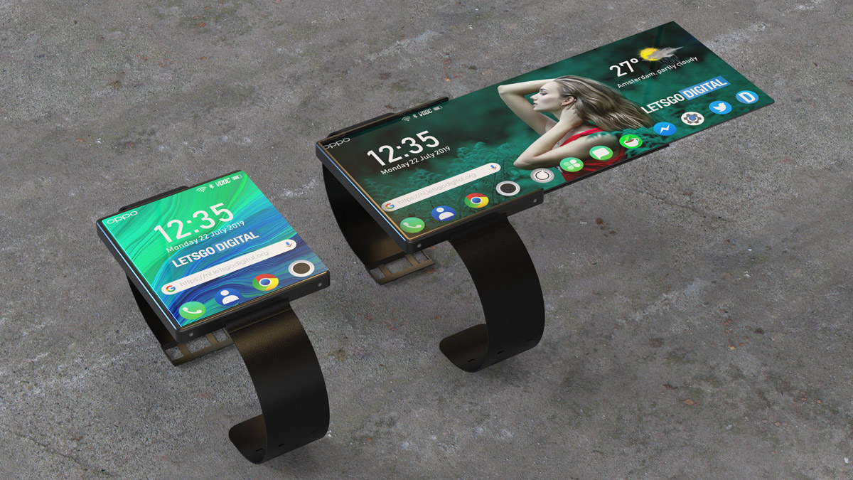 Oppo Foldable Smartwatch