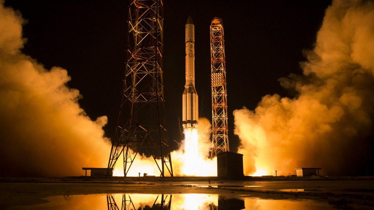 Proton M Rocket