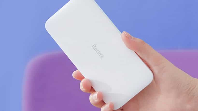 Redmi Powerbank On Hand