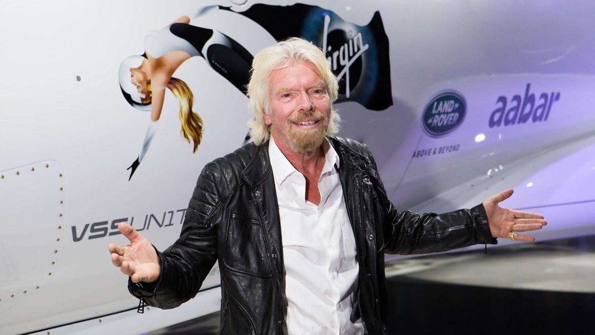 Richard Branson Virgin Galactic