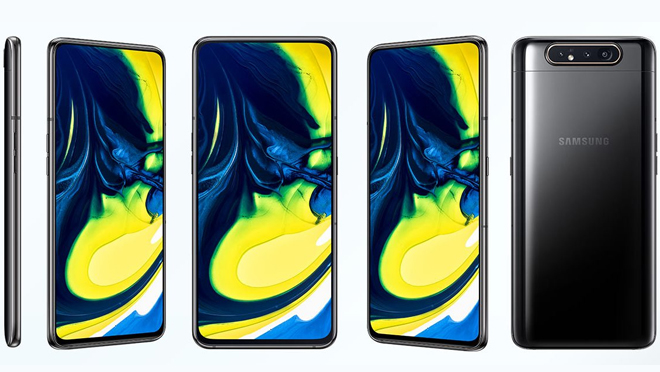 Samsung Galaxy A80 Infinity Display