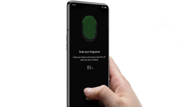 Samsung Galaxy A80 Fingerprint Sensor