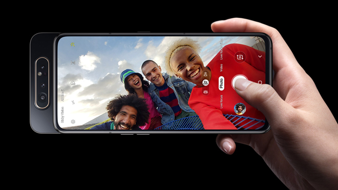Samsung Galaxy A80 Selfie Camera