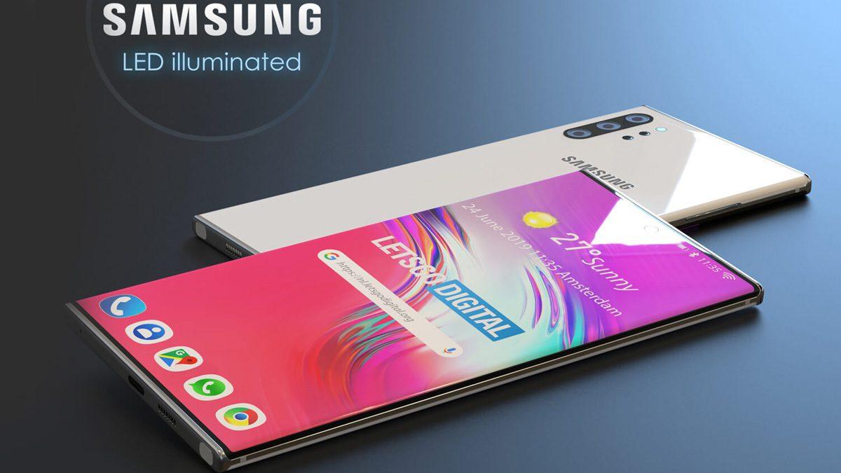 Samsung LED Smartphone
