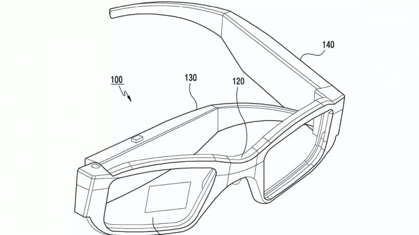 Samsung may be developing foldable augmented reality glasses