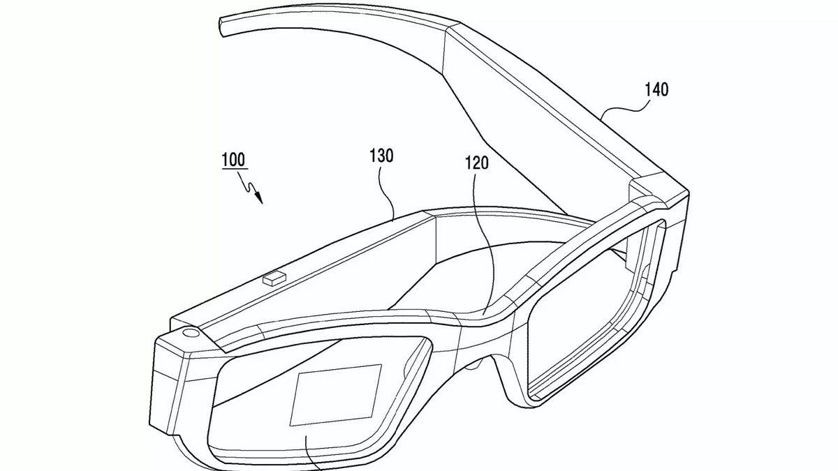 Samsung Patent AR Glass