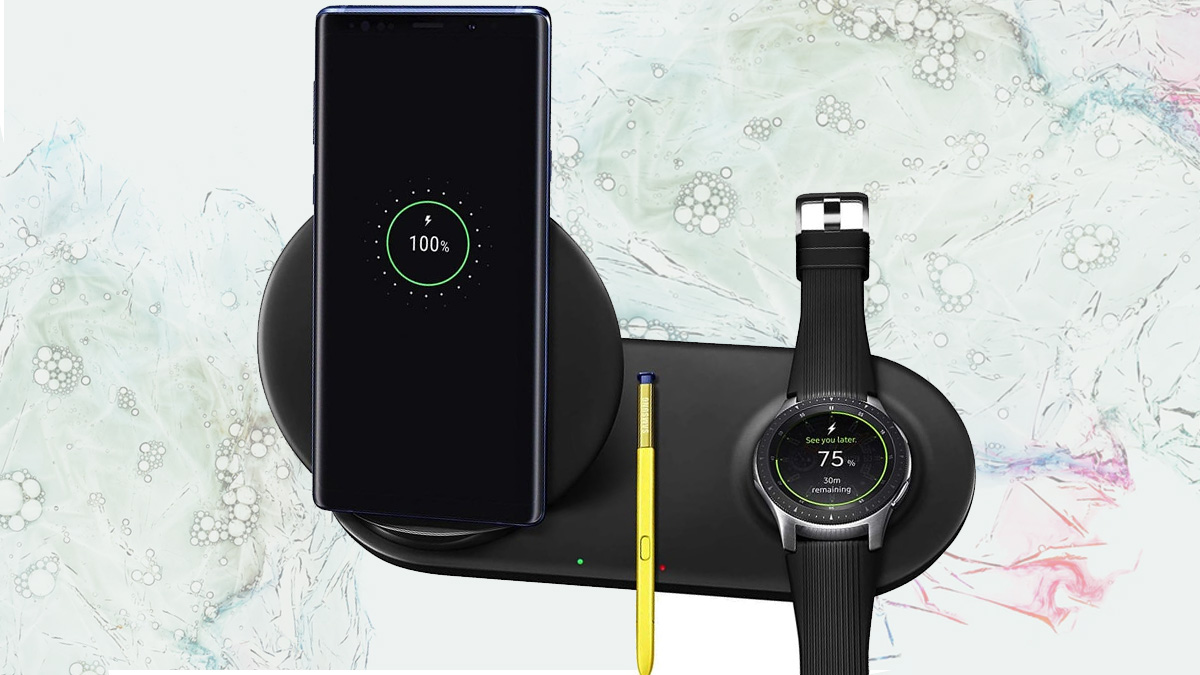 Samsung Wireless Charger Charges Note 10 and Watch 2