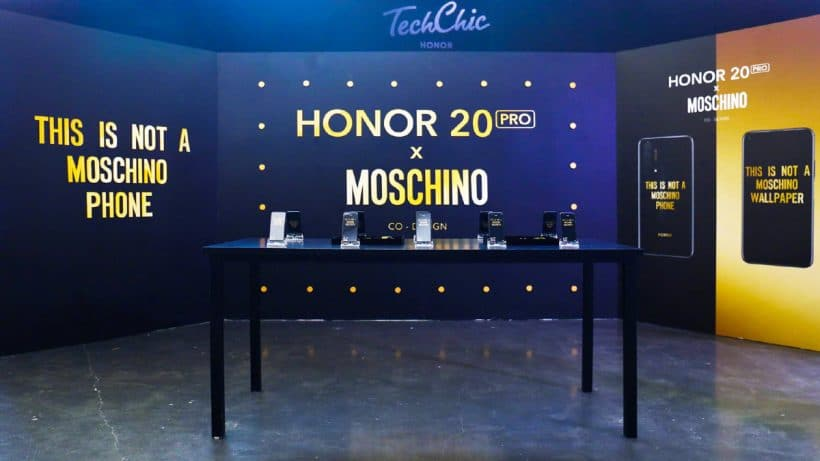 Honor 20 Pro Moschino Edition Announced in China