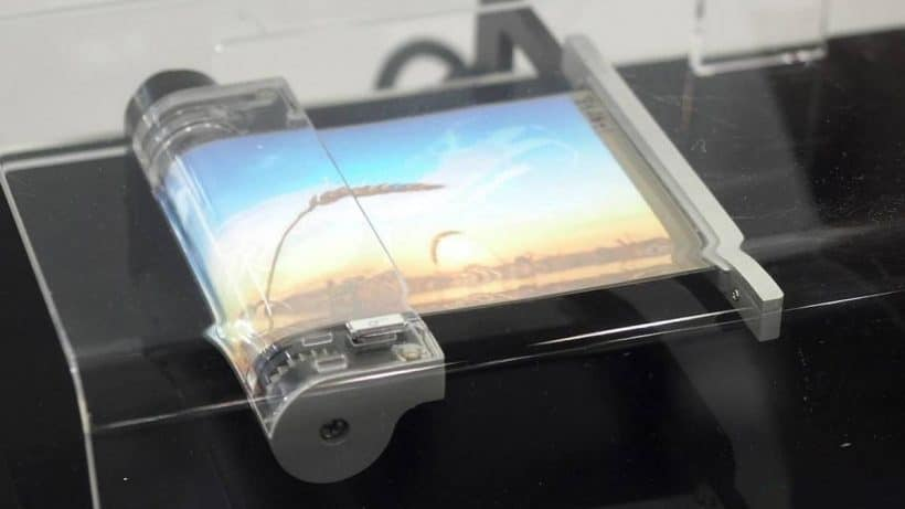 Sony Rollable Phone