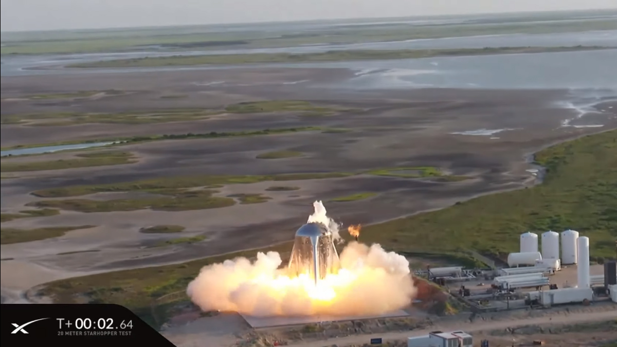 Spacex Starhopper Test