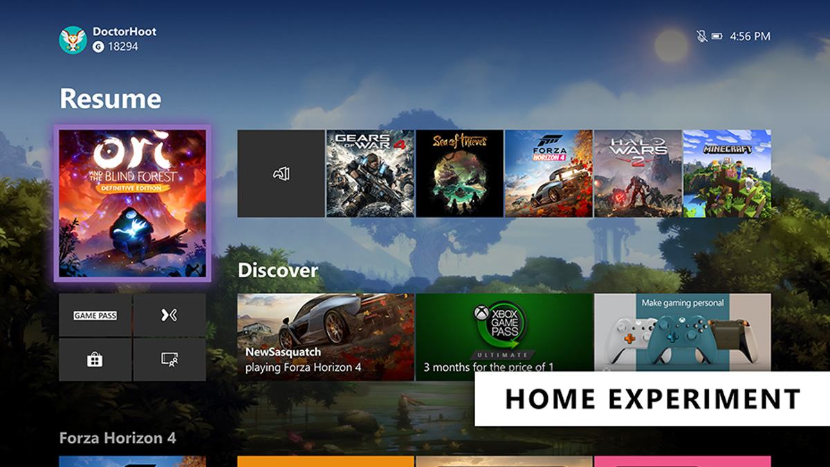 Xbox Home And Xbox Voice