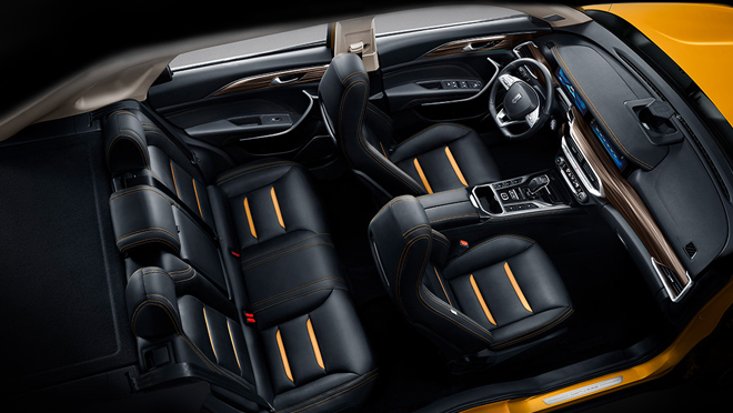 Xiaomi Pentium SUV Interior