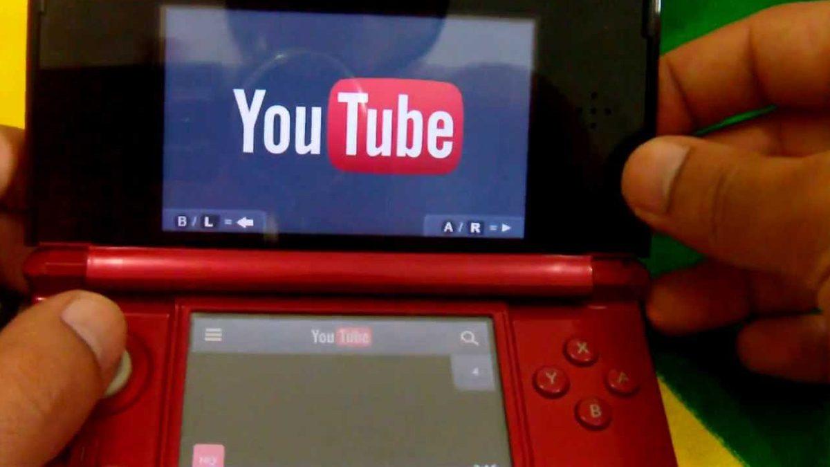 YouTube 3DS App