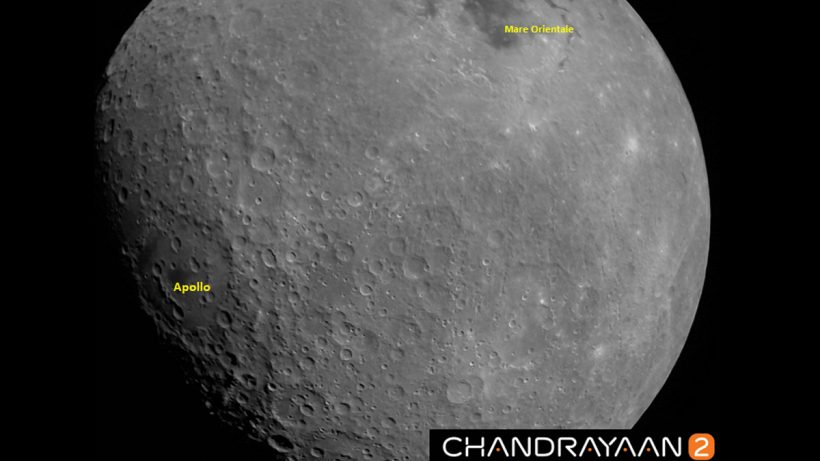 Chandrayaan 2 Moon