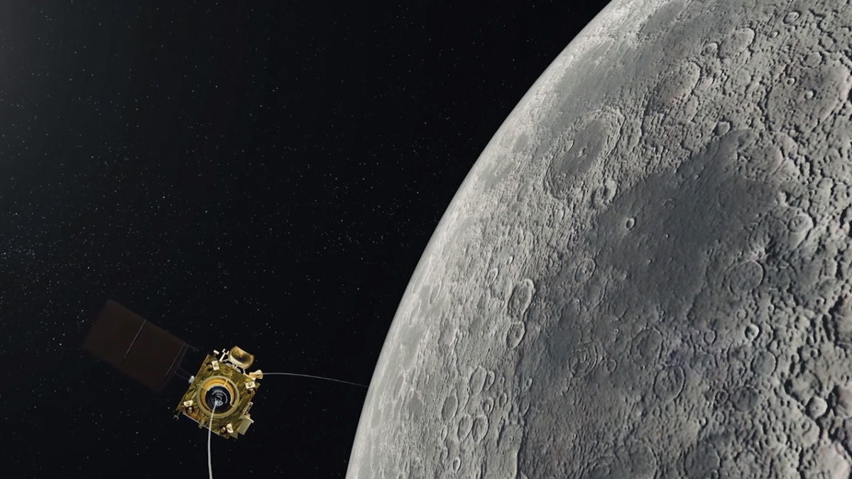 India's Second Moon Mission, Chandrayaan-2 Successfully Enters Lunar Orbit