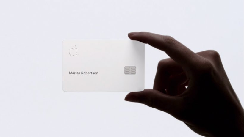 Apple Card In Hand