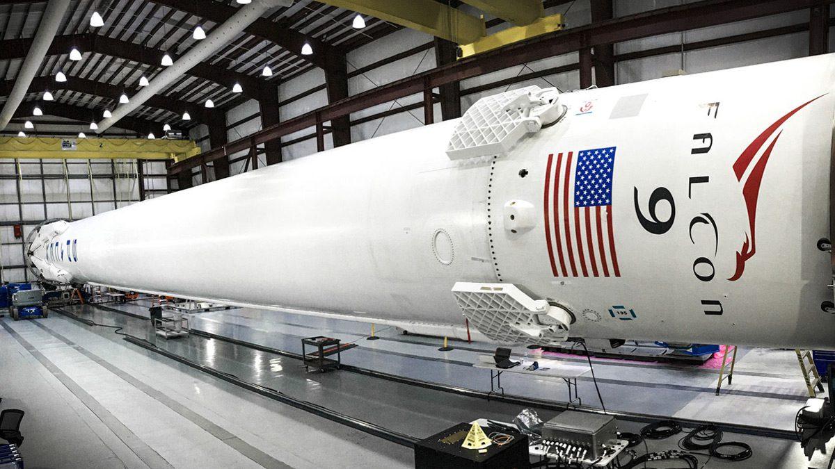 ISRO Falcon 9
