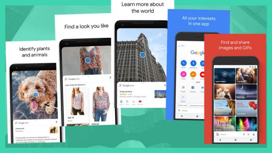 Google Go Search and Lens Application