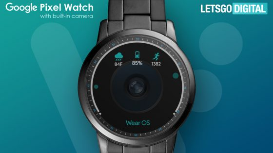 Google Pixel Watch With Camera