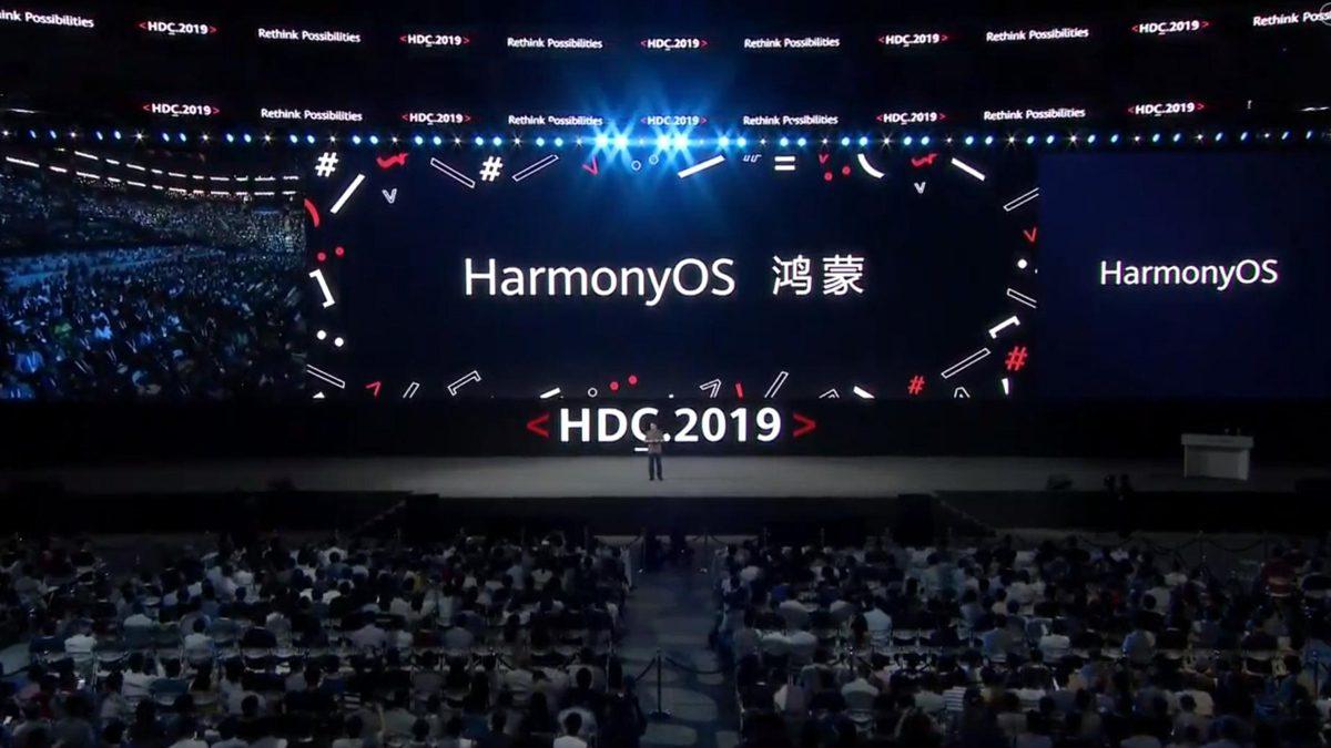 Harmony OS At HDC 2019
