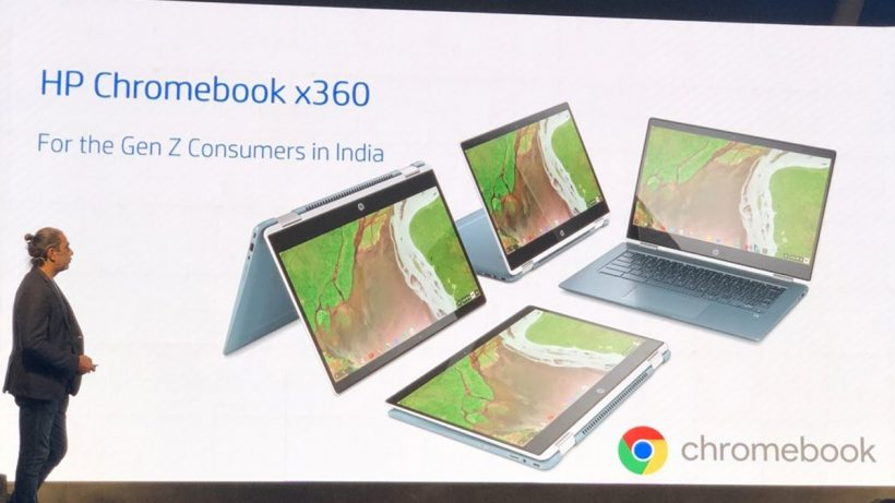 HP introduces Chromebook x360 with Android apps support in India