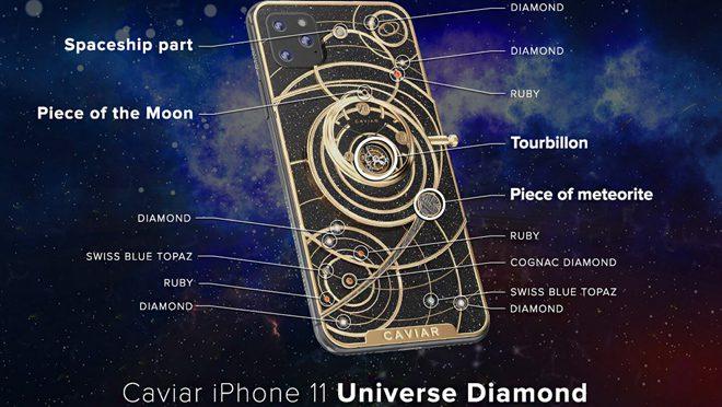 iPhone 11 from Caviar Diamond