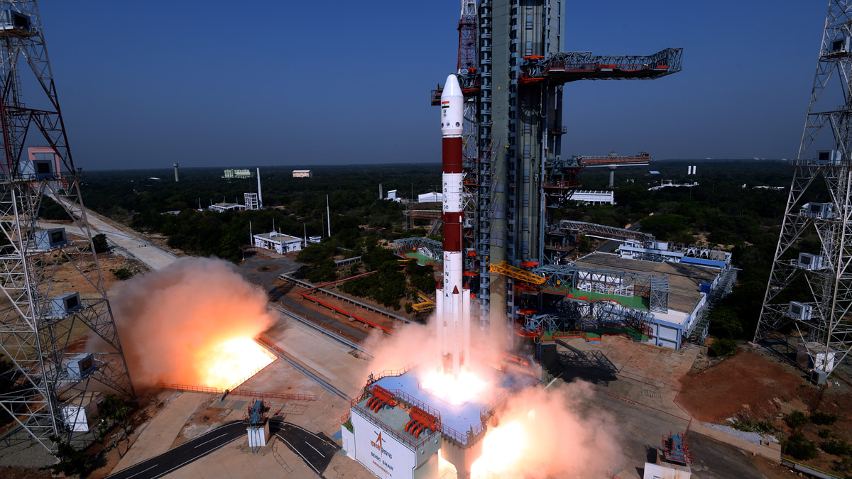 ISRO Launching Satellite