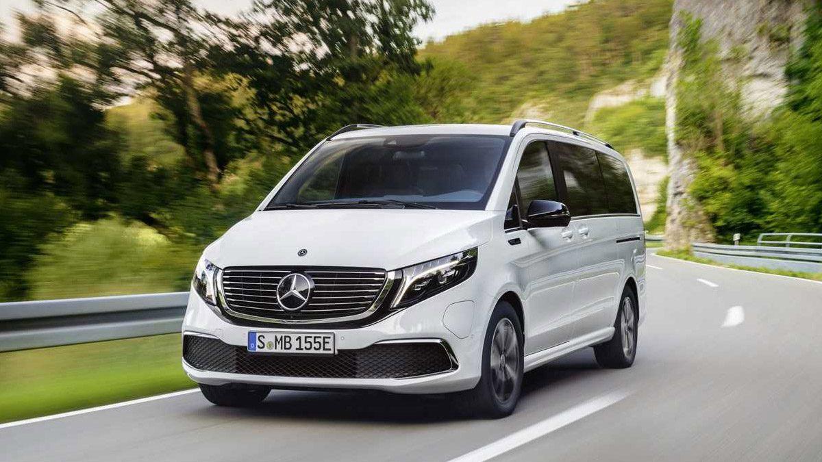 Mercedes Benz EQV Premium van