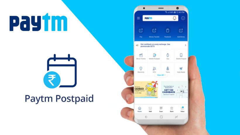 Paytm Postpaid Active and Operational