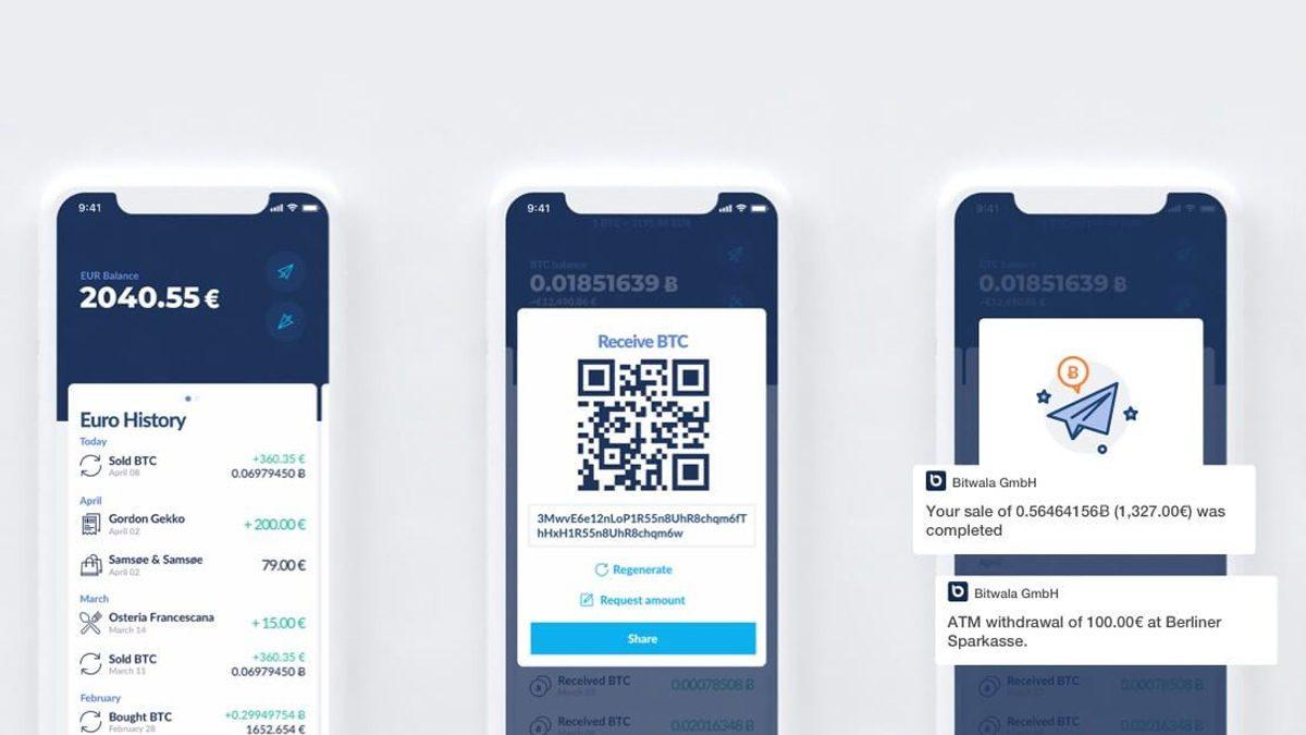 Bitcoin Banking App