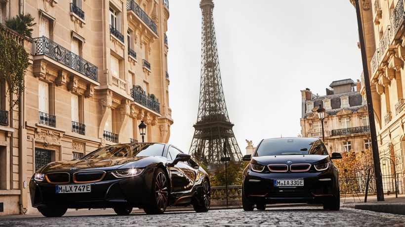 BMW Cars On Road