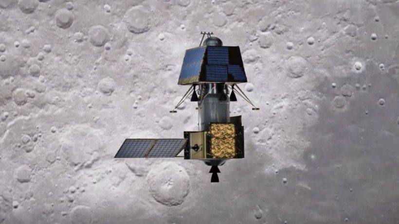Chandrayaan 2 Vikram Lander on Moon