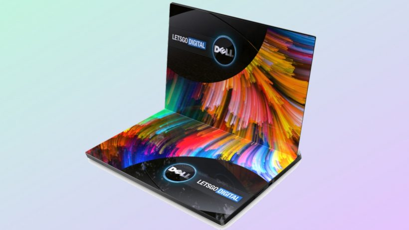 Dell Foldable screen laptop