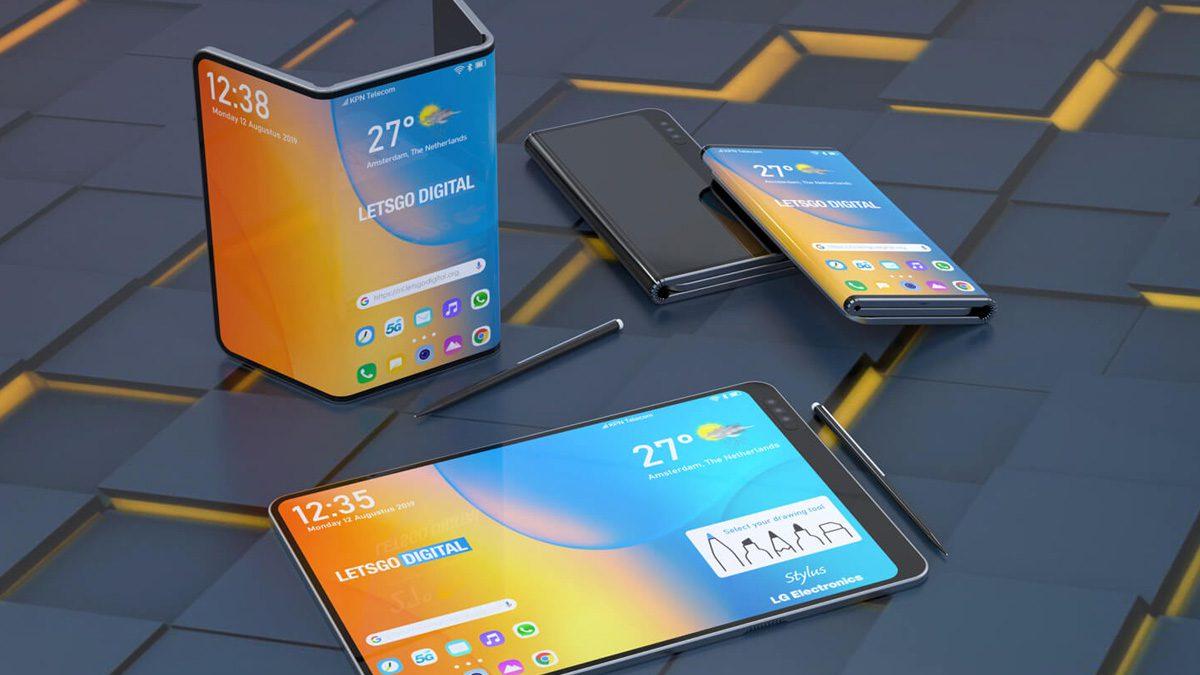 LG Dual Foldable Phone