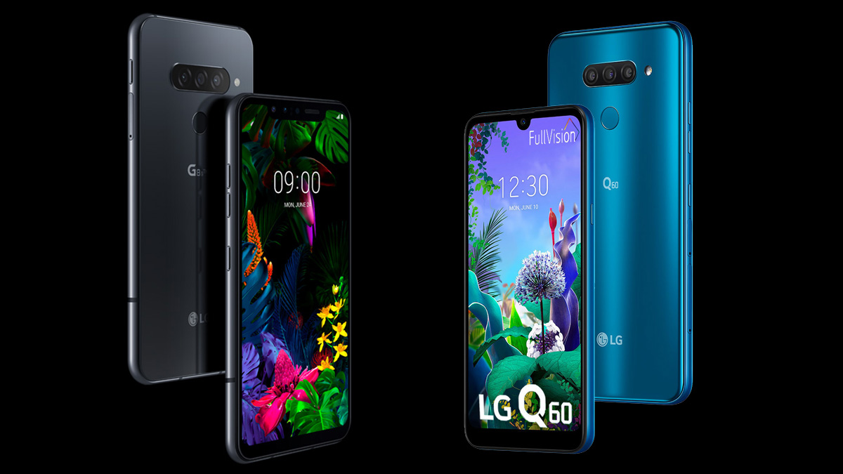 LG G8s ThinQ and LG Q60