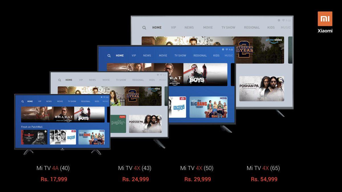 Mi TV 4X 65 Inch