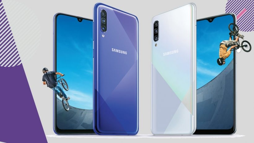Samsung Galaxy A30s and A50s