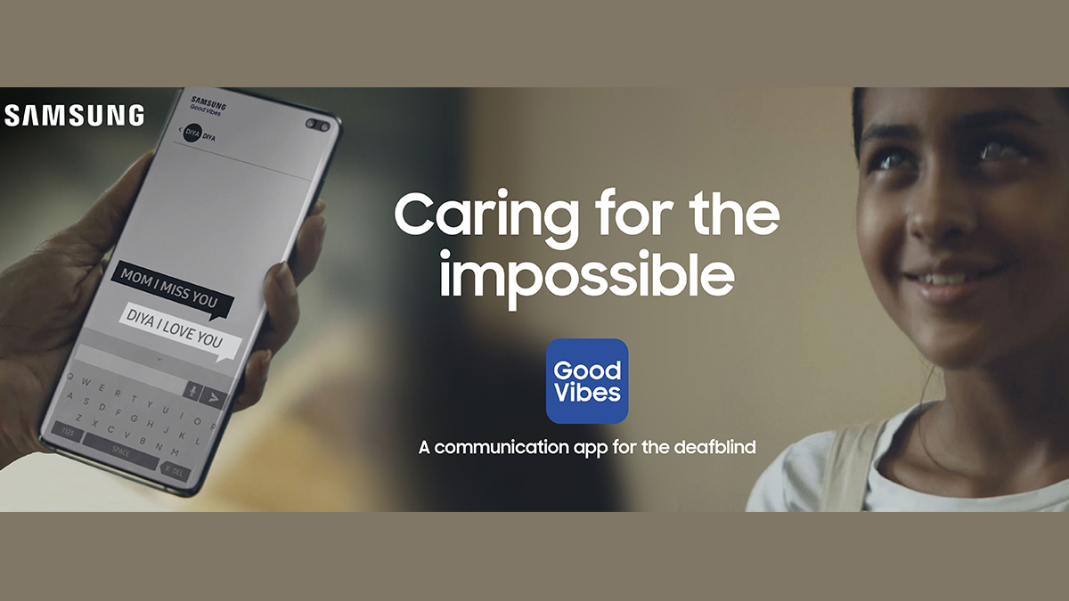 Samsung Good Vibes For Caring